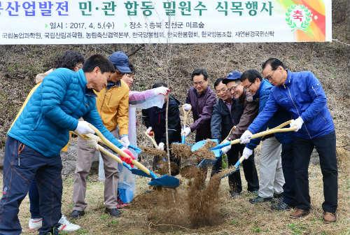 제72회 식목일 꿀벌을 위한 민·관 합동 밀원수 식목행사 개최-3.jpg